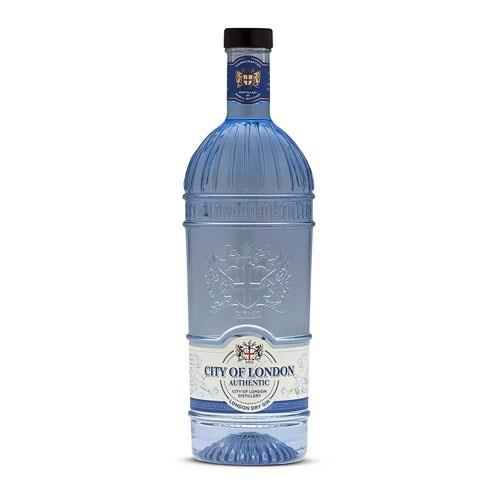 City of London Dry Authentic Gin 70cl Image 1