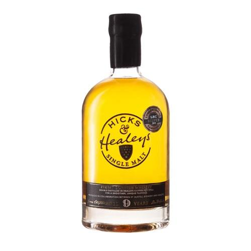 Hicks & Healeys Cornish Single Malt 9 years old 42.5% 70cl Image 1
