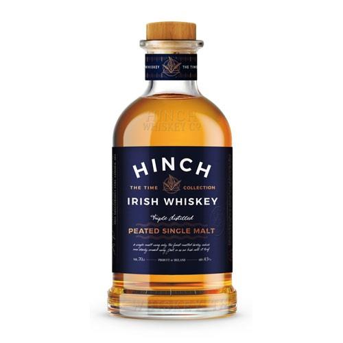 Hinch Peated Single Malt Irish Whiskey 70cl Image 1