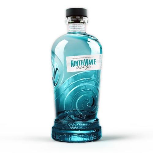 Ninth Wave Irish Gin 70cl Image 1