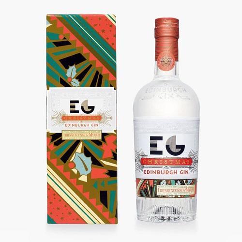 Edinburgh Gin Christmas 70cl Image 1