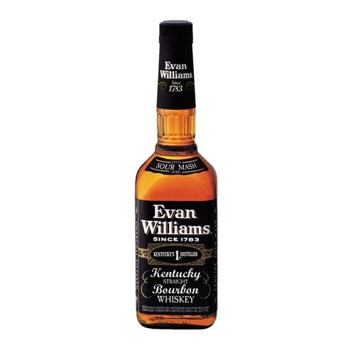 Evan Williams Kentucky Straight Bourbon 43% 70cl Image 1