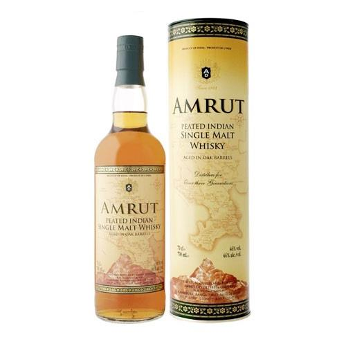 Amrut Peated single malt 62.8% vol 70cl Image 1