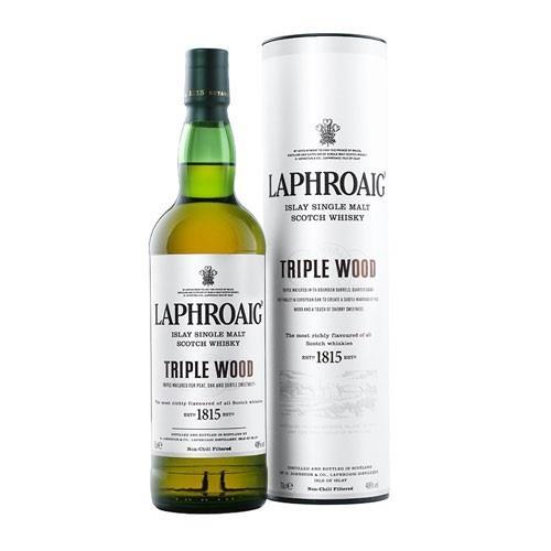 Laphroaig Triple Wood 48% 70cl Image 1
