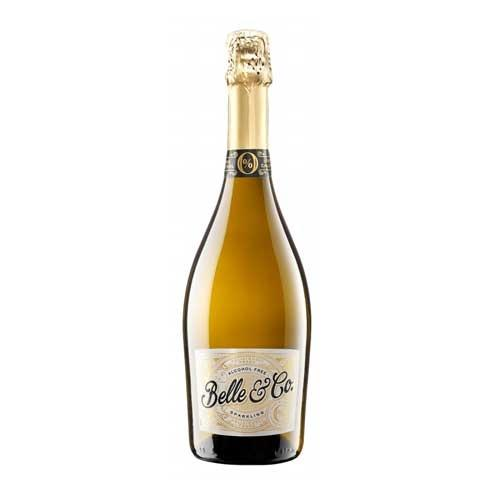 Belle & Co Sparkling White Non Alcoholic 75cl Image 1