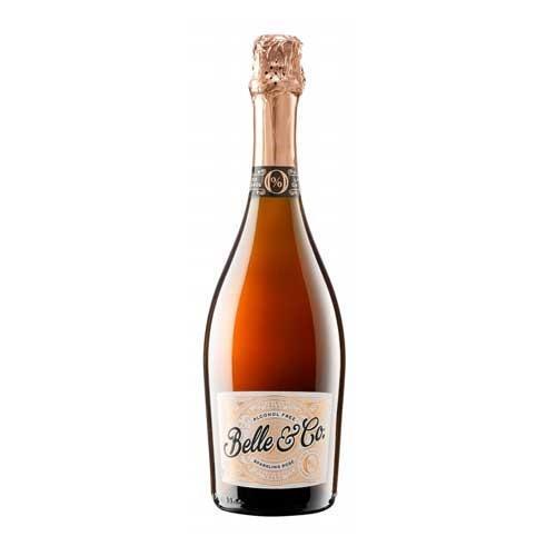 Belle & Co Sparkling Rose Alcohol Free 75cl Image 1