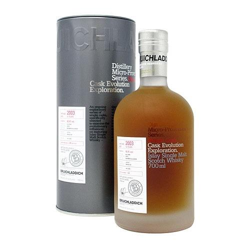 Bruichladdich 2003 14 years old Micro Provenance Cask No. 10/179-1 70cl Image 1