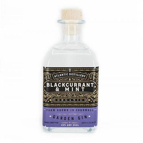 Atlantic Distillery Blackcurrant & Mint Organic Gin 43% 70cl Image 1