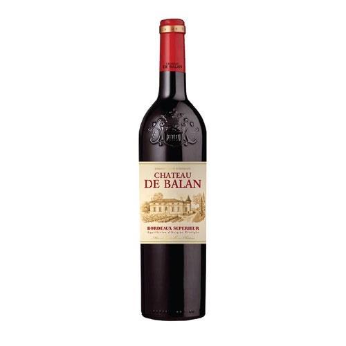 Chateau de Balan Bordeaux Superieur Rouge 2017 75cl Image 1
