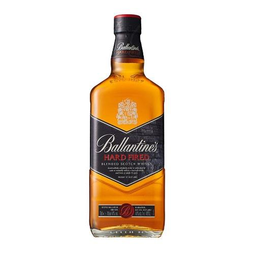 Ballantines Hard Fired Blended Scotch Whiskey 70cl Image 1