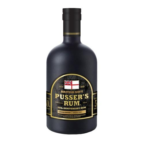 Pusser's Rum 50th Anniversary Limited Edition 70cl Image 1