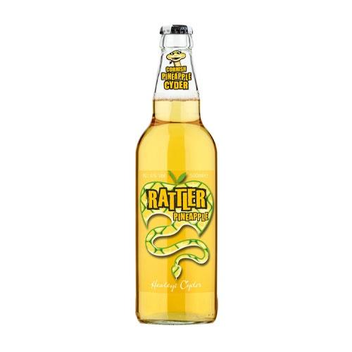 Healeys Rattler Pineapple Cornish Cider 500ml Image 1