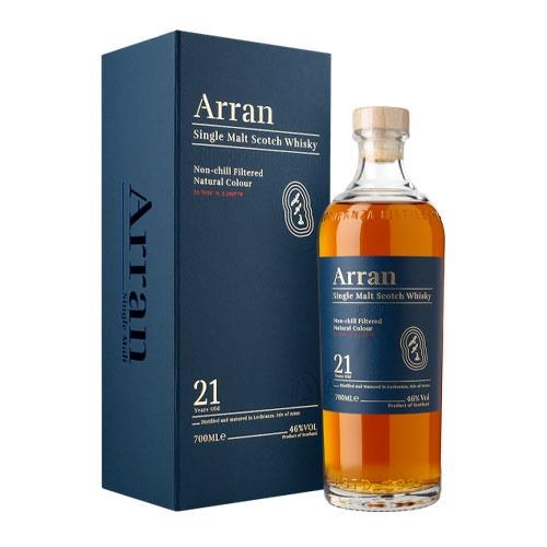 Arran 21 years old 70cl Image 1