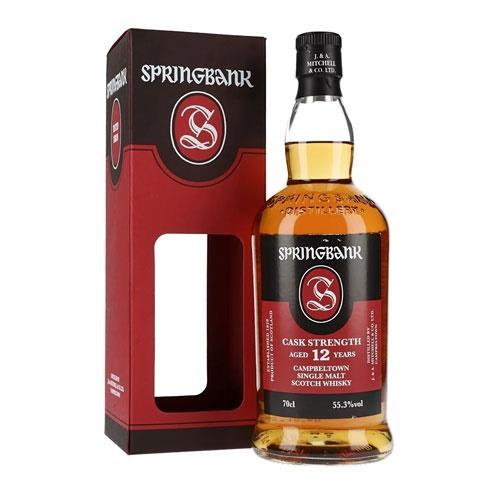 Springbank 12 Years Old Cask Strength 55.3% Batch 20 - 2020 70cl Image 1