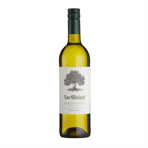 Les Oliviers Sauvignon Blanc Vermentino 2019 75cl Image 1
