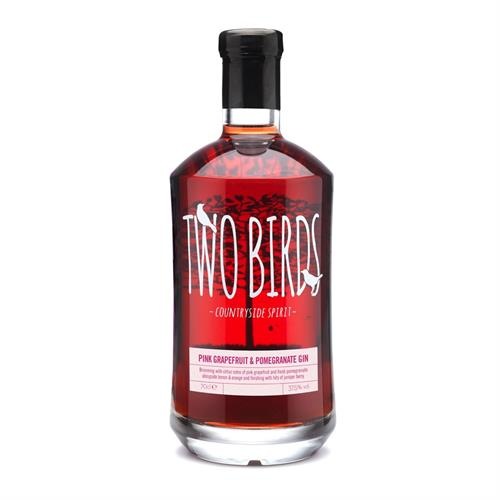 Two Birds Grapefruit & Pomegranate Gin 70cl Image 1
