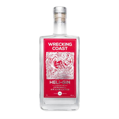 Wrecking Coast Heli-Gin 70cl Image 1