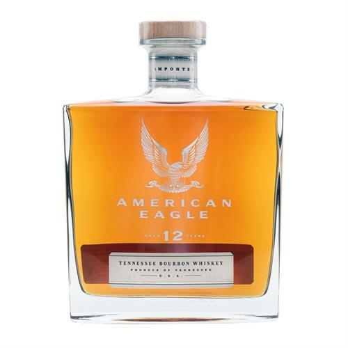 American Eagle 12 Year Old Bourbon Whiskey 70cl Image 1
