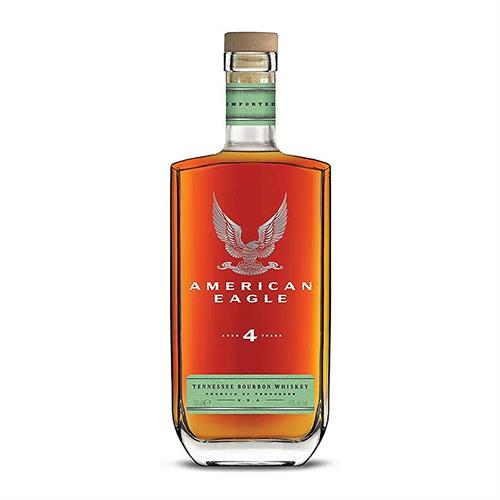 American Eagle 4 Year Old Bourbon Whiskey 70cl Image 1