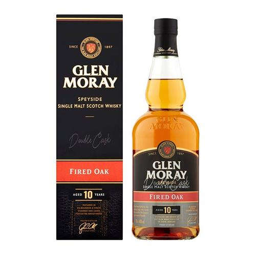 Glen Moray Fired Oak 10 Years Old 70cl Image 1