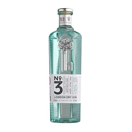 No. 3 London Dry Gin 46% 70cl Image 1