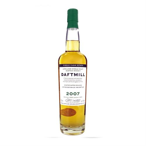 Daftmill 2007 Winter Batch Release 46% 70cl Image 1