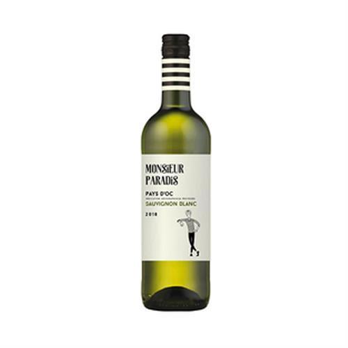 Monsieur Paradis Sauvignon Blanc 2019 Pays D'Oc 75cl Image 1