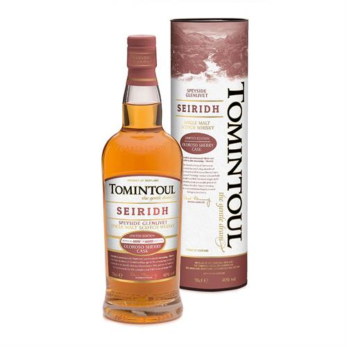 Tomintoul Seiridh Oloroso Sherry Cask 70cl Image 1