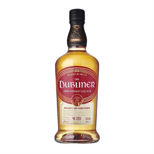The Dubliner Whiskey and Honeycomb Liqueur 70cl Image 1