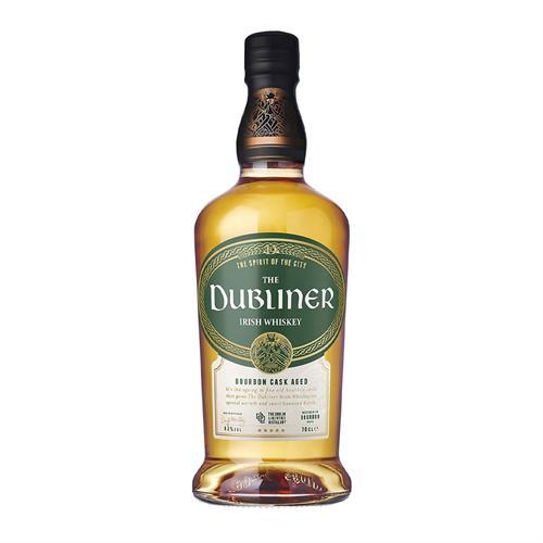 The Dubliner Irish Whiskey Bourbon Cask Aged 40% 70cl Image 1