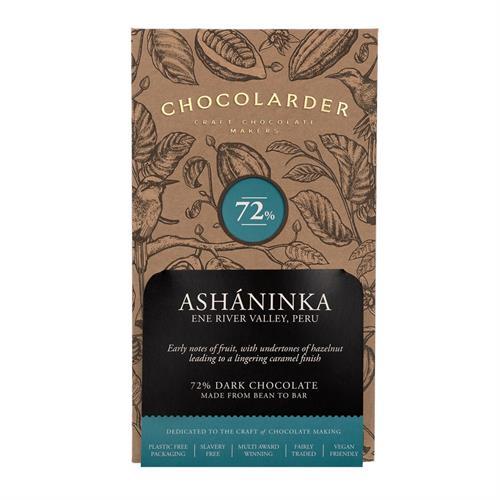 Chocolarder Ashaninka 72% Dark Chocolate 70g Image 1