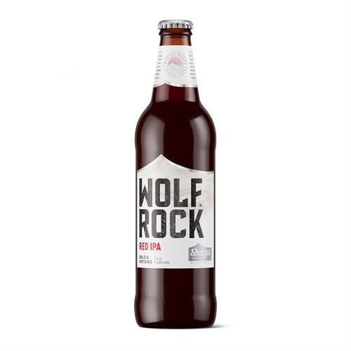 Sharps Wolf Rock Red IPA 4.8% 500ml Image 1