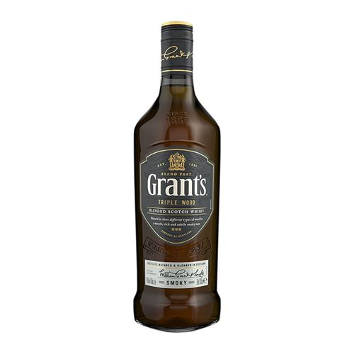 Grants Smoky Blended Scotch Whisky 70cl Image 1
