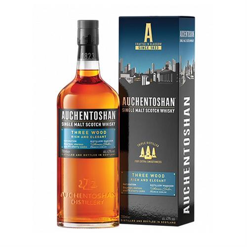 Auchentoshan Three Wood 70cl Image 1