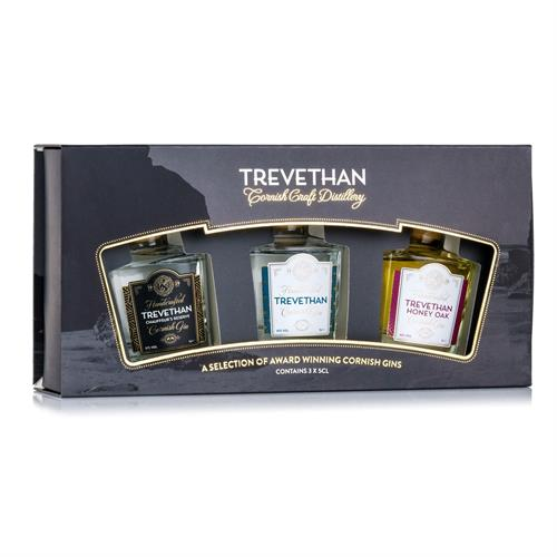 Trevethan Gin Miniature Pack 3x5cl Image 1