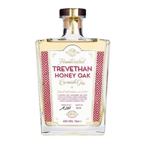 Trevethan Honey Oak Cornish Gin 43% 70cl Image 1