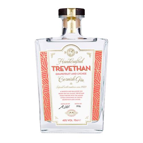 Trevethan Grapefruit & Lychee Gin 70cl Image 1