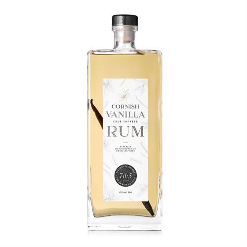 Cornish Vanilla Cold Infused Rum 50cl Image 1