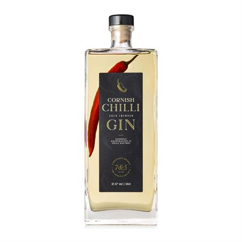 Cornish Chilli Cold Infused Gin 50cl Image 1