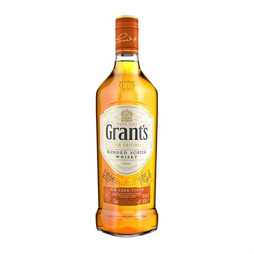 Grants Rum Cask Blended Scotch Whisky 70cl Image 1