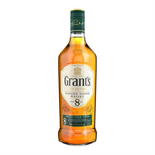Grants 8 Year Old Sherry Cask Blended Scotch Whisky 70cl Image 1