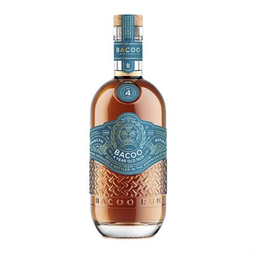 Bacoo 4 Year Old Rum 70cl Image 1