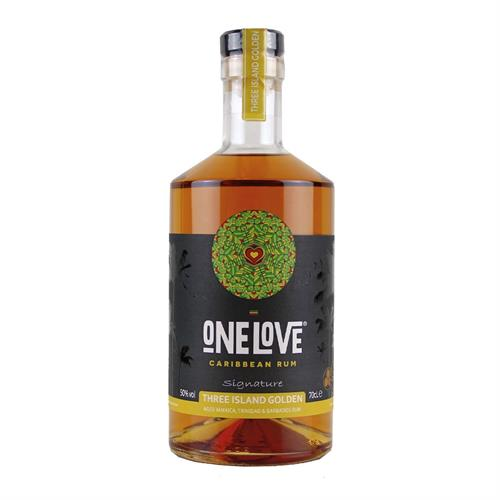 One Love Caribbean Three Island Rum 50% 70cl Image 1