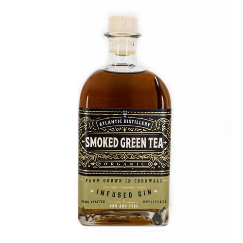 Atlantic Distillery Smoked Green Tea Organic Gin 70cl Image 1