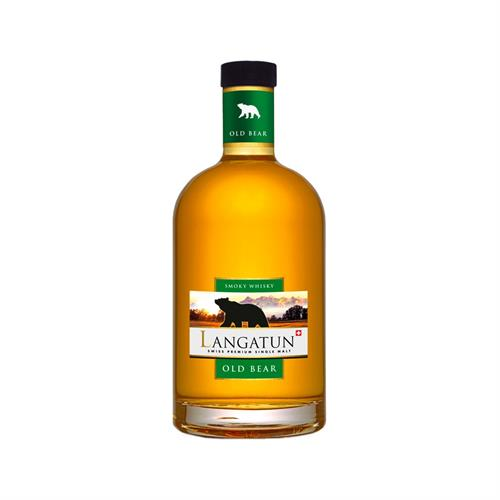 Langatun Old Bear Smoky Cask Strength 50cl Image 1
