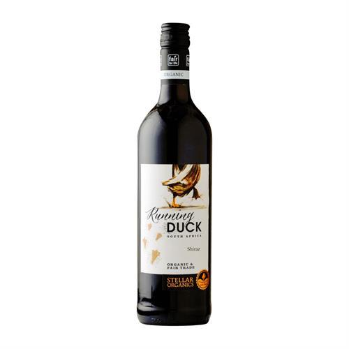 Stellar Running Duck Shiraz 2019 Organic & Fair Trade 75cl Image 1