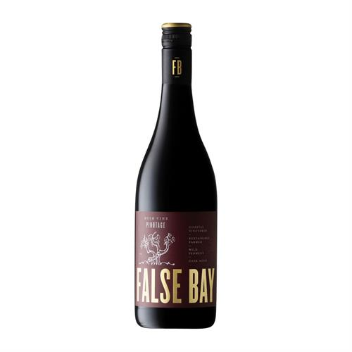 False Bay Bush Vine Pinotage 2019 75cl Image 1
