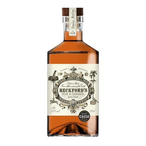 Beckford's Caramel Rum Spirit 25% 70cl Image 1