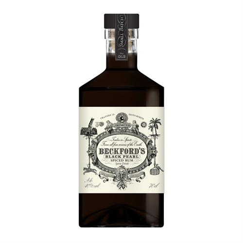 Beckford's Black Pearl Dark Rum 70cl Image 1