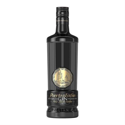 Puerto de Indias Black Edition Gin 70cl Image 1